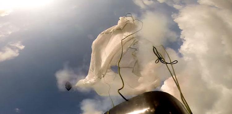 dropsafe paracaidas gopro drone