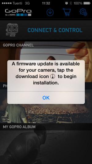 app gopro descargar firmware