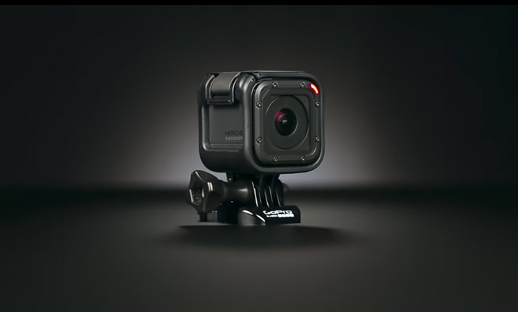 gopro hero4 session camara